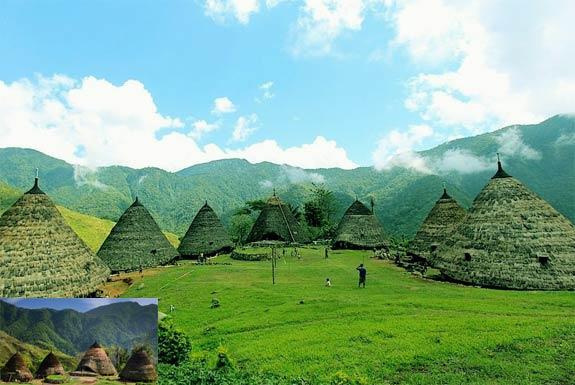Wae Rebo Manggarai, Kampung Diatas Awan